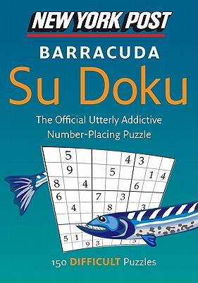 New York Post Barracuda Su Doku By Harpercollins Publishers Ltd.
